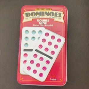 NWOT Dominoes game set